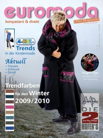Trendfarben Trendfarben - Euromoda-Magazin
