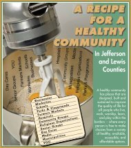 A RECIPE FOR A HEALTHY COMMUNITY - Watertown Daily Times