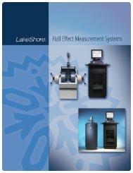 Hall Effect Measurement System Catalog - Lake Shore Cryotronics ...
