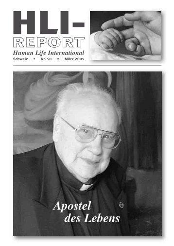 Report 50.qxd - HLI-Schweiz