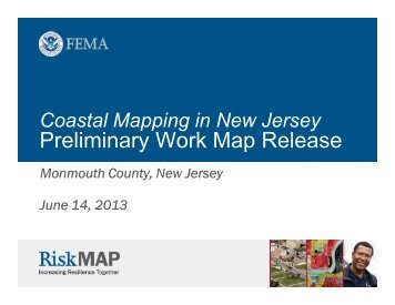 Coastal Mapping in New Jersey