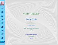 Vides miroirs - Equivalences.org