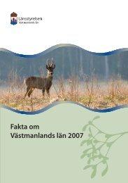 Faktabroschyr om Västmanlands län (pdf 1,4 MB) - Sala kommun