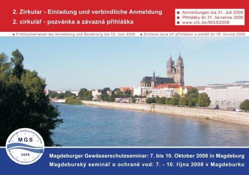 2. Zirkular - Einladung und verbindliche Anmeldung ... - GLOWA-Elbe
