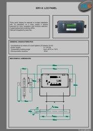 IDR1-S :LCD PANEL - 3b6.it