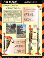 ALUMINUM X-Strut