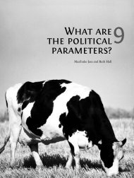 What are the political parameters? - PLAAS