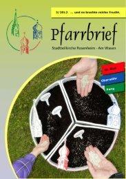 Pfarrbrief 3/2012 - Pfarrei Heilig Blut