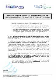 des observations défavorables au projet - Eau et rivières de Bretagne