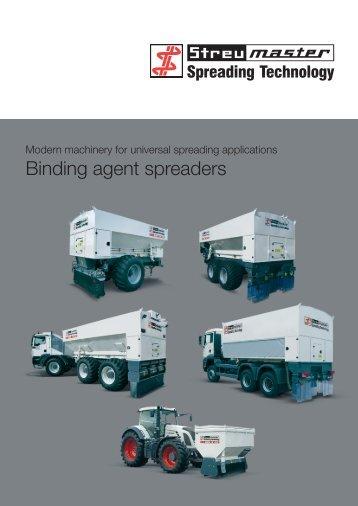 Binding agent spreaders - Wirtgen GmbH