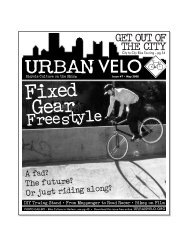 a PDF - Urban Velo