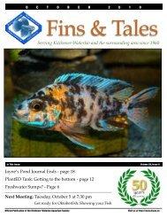 October 2010 - Kitchener Waterloo Aquarium Society