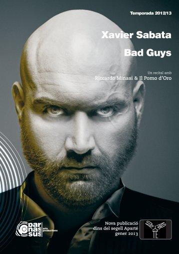 Xavier Sabata Bad Guys - parnassus.at