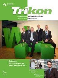 Ausgabe 2/2012 - TRIKON - Westfälische Hochschule