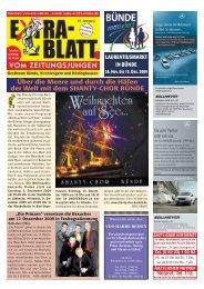 Ausgabe 11/09 zum Herunterladen - Extrablatt vom Zeitungsjungen