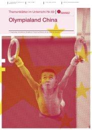 Olympialand China - Institut für Friedenspädagogik Tübingen