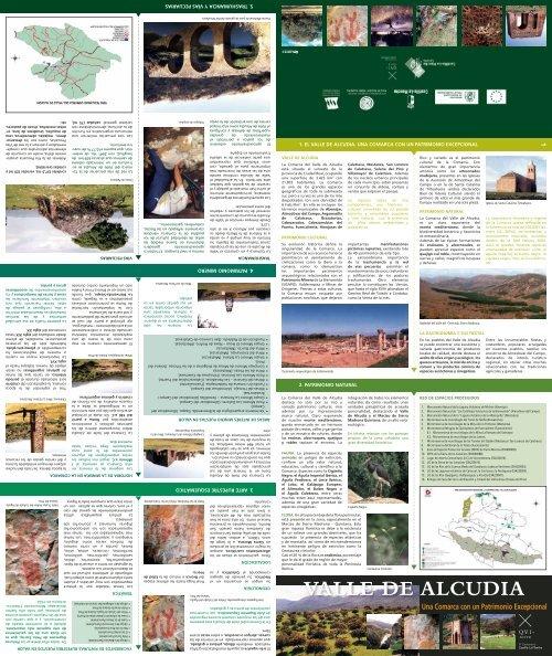 VALLE DE ALCUDIA - asociación para el desarrollo sostenible del ...