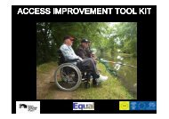 Access Audits Toolkits - Canal & River Trust