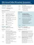 2013 Rhinoplasty Symposium Brochure - Dallas Rhinoplasty ... - Page 4
