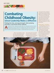 combating childhood obesity: - National Association of Elementary ...