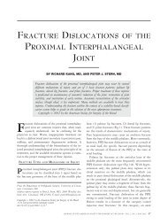 fracture dislocations of the proximal ... - Northwestern University