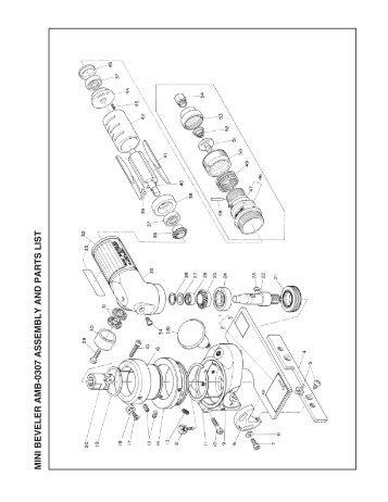 atra ace qa-5000 (110-120v) assembly and parts list