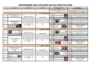 Patwi scrap co hall a for Salon creativa metz