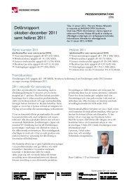 Delårsrapport Q4 samt bokslut, 31 januari 2011 - Micronic Mydata