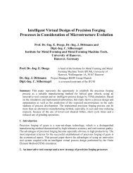 Intelligent Virtual Design of Precision Forging Processes in ...