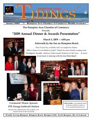"""2009 Annual Dinner & Awards Presentation"" - Hampton Area ..."