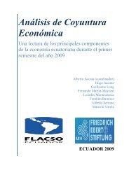 Análisis de Coyuntura Económica - FES Ecuador