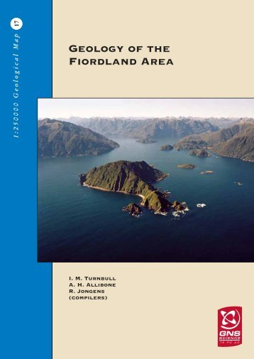 Geology of the Fiordland Area - GNS Science