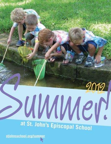 summer soccer camp - St. John's Episcopal School