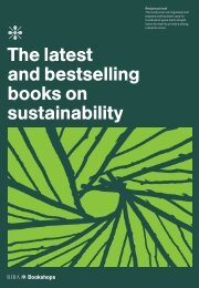 The latest and bestselling books on sustainability - RIBA Bookshops