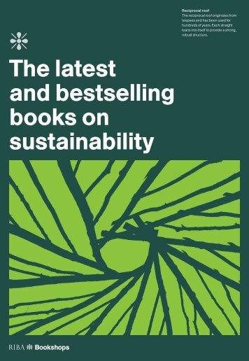 The latest and bestselling books on sustainability - RIBA Bookshops