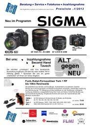 Katalog als PDF zum Download - bei Foto Huppert