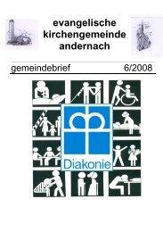 Neuzugezogenen- Besuchsdienst - Evangelische Kirche Andernach