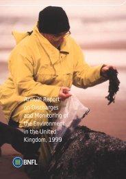 1999 - Sellafield Ltd
