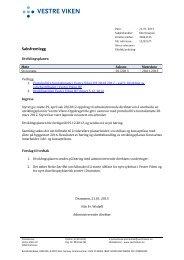 Utviklingsplan styresak 2/2013 - Vestre Viken HF
