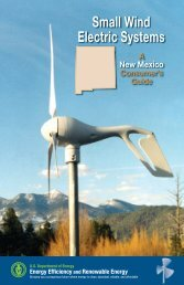 Small Wind Electric Systems: A New Mexico Consumer's ... - NREL