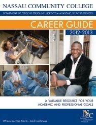2012-2013 Career Guide - Nassau Community College