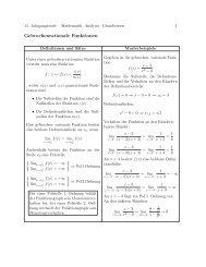 Grundwissen rationale Funktion - Treminer.de