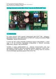 Modul meglévő MC66C rendszerekhez (HU) - Comptech Kft.