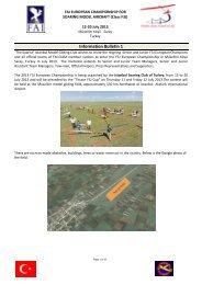 Information Bulletin 1 - FAI