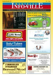 Info-Ville novembre - décembre 2012 - MontreuxInfoVille