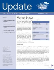 November 2008 UPDATE.indd - Blue Diamond Growers