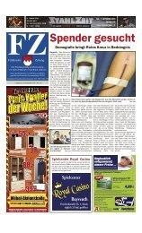 4.- 1.50 1. Oktober  2011 - Fränkische Zeitung