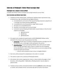 Photo Scavenger Hunt – Official Rules - Panther Central - University ...