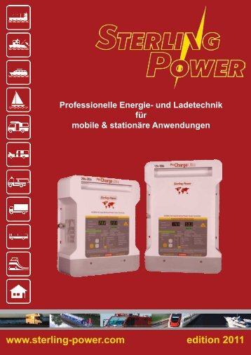 Sterling-Katalog - Sterling Power Products