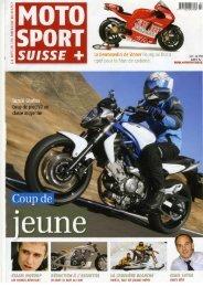 Croisière solidaire (parution Moto Sport Suisse, PDF) - Top News